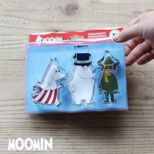 Moomin/ムーミン クッキー型セット|niconomanimani