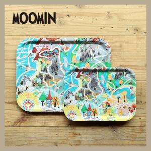 Moomin/ムーミン トレイS ムーミン地図|niconomanimani