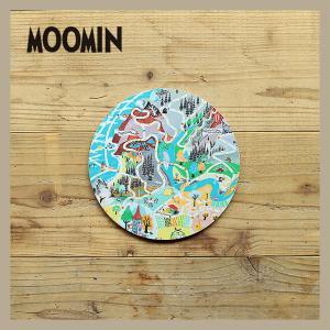 Moomin/ムーミン ポットコースター ムーミン地図|niconomanimani