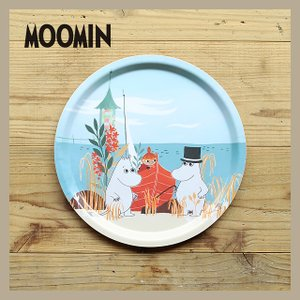 Moomin/ムーミン ラウンドトレイM ムーミンビーチボート|niconomanimani