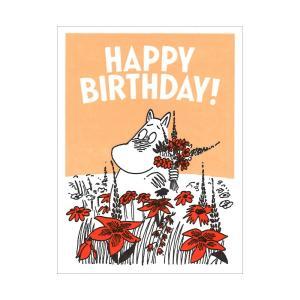 ムーミン ギフトカード  HAPPY BIRTHDAY|niconomanimani