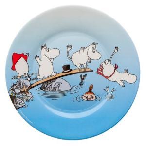 Moomin/ムーミン Ratt Start メラミンプレートARCHIPELAGO プレート キッズ 食器 メラミン食器 メラミン 皿 ムーミン moomin 北欧 原画|niconomanimani