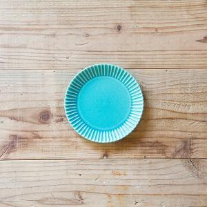 SAKUZAN/作山窯 Stripe 丸皿 S 小皿|niconomanimani