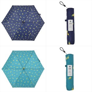 傘 雨傘 レディース 折りたたみ傘 軽量 大きめ 晴雨兼用 レモン ニフティカラーズ|niftycolors