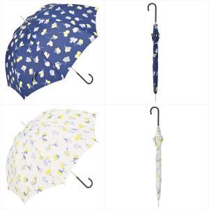 傘 雨傘 レディース 長傘 晴雨兼用 花 フレア ニフティカラーズ|niftycolors