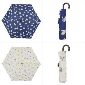 傘 雨傘 レディース 折りたたみ傘 晴雨兼用 花 フレア ニフティカラーズ|niftycolors