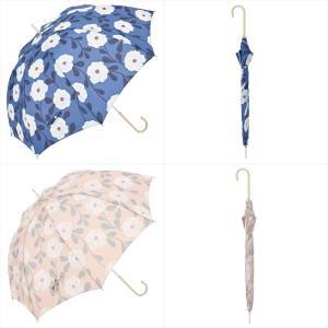 傘 雨傘 レディース 長傘 晴雨兼用 花 ピオニー ニフティカラーズ|niftycolors