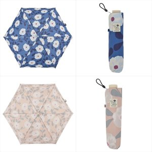 傘 雨傘 レディース 折りたたみ傘 晴雨兼用 花 ピオニー ニフティカラーズ|niftycolors