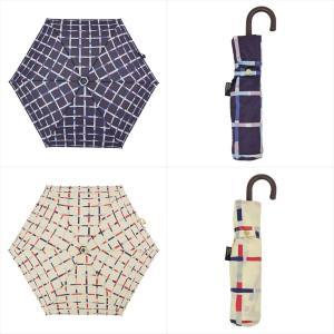 傘 雨傘 レディース 折りたたみ傘 晴雨兼用 チェック 総柄 ニフティカラーズ|niftycolors
