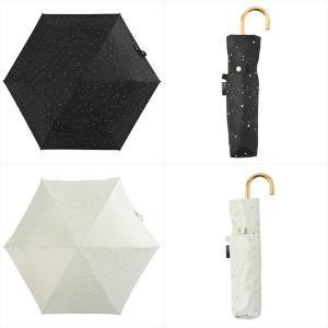 日傘 レディース 晴雨兼用 折りたたみ傘 遮光 遮熱 星柄 スター ニフティカラーズ niftycolors