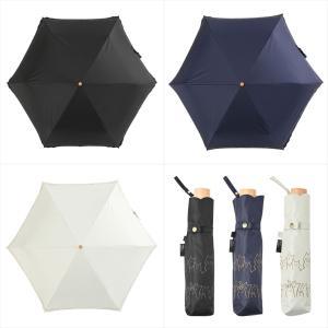 日傘 レディース 晴雨兼用 折りたたみ傘 遮光 遮熱 ねこ キャット ニフティカラーズ niftycolors