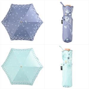 日傘 レディース 晴雨兼用 折りたたみ傘 遮光 遮熱 デイジー フラワー ニフティカラーズ niftycolors