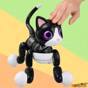 気ままなネコロボット 『ハロー!ウ〜ニャン』 ACアダプター付きセット 〔予約:数営業日〕 【オムニボット zoomer Omnibot Hello! Woonyan】|nigiwaishouten|02