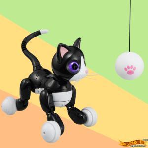 気ままなネコロボット 『ハロー!ウ〜ニャン』 ACアダプター付きセット 〔予約:数営業日〕 【オムニボット zoomer Omnibot Hello! Woonyan】|nigiwaishouten|03