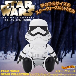 スターウォーズ フォースの覚醒 STAR WARS ビーンズコレクション ストームトルーパー EP7 ファースト・オーダー|nigiwaishouten