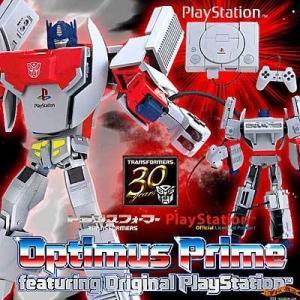 TF トランスフォーマー オプティマスプライム オリジナルプレイステーション 【初代 Play Station ( プレステ )と Optimus Prime ( コンボイ )がコラボ!】|nigiwaishouten