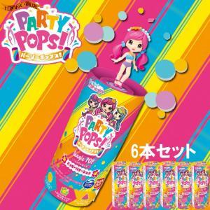 【6個セット】 Party Pops / パーリーポップス シングルポップ ハッピーバケーション|nigiwaishouten