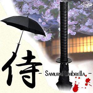 サムライアンブレラ 日本刀風侍雨傘|nigiwaishouten