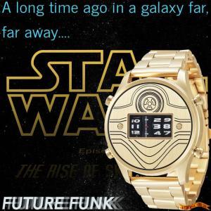 STAR WARS Roller watch by FUTURE FUNK metal band model(C-3PO) スターウォーズ 腕時計|nigiwaishouten
