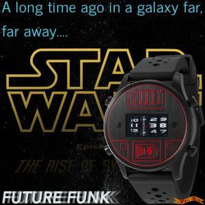 STAR WARS Roller watch by FUTURE FUNK rubber band model(DV) *Darth Vader(ダースベイダー) スターウォーズ 腕時計|nigiwaishouten