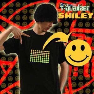 光るTシャツイコライザー -FLASHWEAR T-Qualizer- スマイリーグラフィックイコライザー|nigiwaishouten