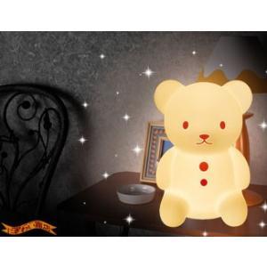 Silicone Light up bear くまのおやすみライト PK (ピンク) 〔予約:2〜5営業日程〕 nigiwaishouten 03