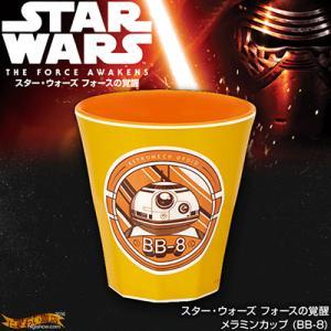 スターウォーズ フォースの覚醒 メラミンコップ (BB-8) 【MTB2 メラミンタンブラー】|nigiwaishouten