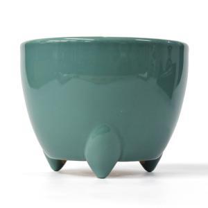 「青磁色土香炉 浄土真宗西用 4寸」陶器製 青磁色 香炉 仏具 小物|nihondou-webshop