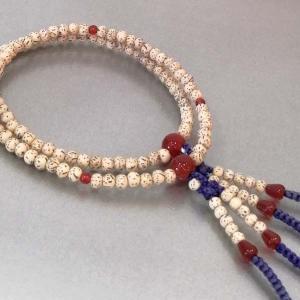 数珠 真言宗 女性用 星月菩提珠 瑪瑙入り|nihondou-webshop