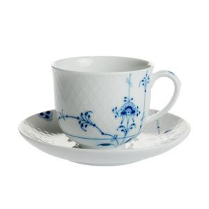 ロイヤルコペンハーゲン ブルーパルメッテ コーヒーカップ&ソーサー 240ml 2-500-074|nihonnotsurugi