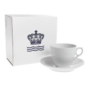 ロイヤルコペンハーゲン ホワイトハーフレース コーヒーカップ...