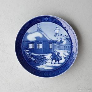 ロイヤルコペンハーゲン 2005年 イヤープレート -Hans Christian Andersen House-|nihonnotsurugi