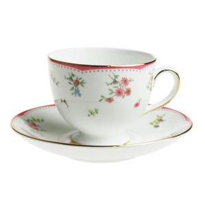 ウェッジウッド フローレット ティーカップ&ソーサー リー|nihonnotsurugi