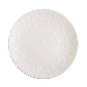 食洗機・電子レンジもOKの毎日使えるワイルドストロベリーの白磁シリーズ ワイルドストロベリーホワイト...