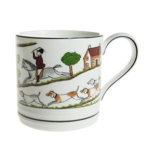 ウェッジウッド ハンティングシーン マグカップ タンカード|nihonnotsurugi