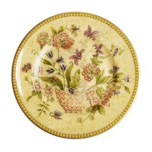 アンティークな雰囲気漂う、『フローラルタペストリー』シリーズ。 可憐な花々が描かれており、網目やモザ...