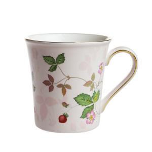 ウェッジウッド ワイルドストロベリー パステル マグカップ ピンク|nihonnotsurugi