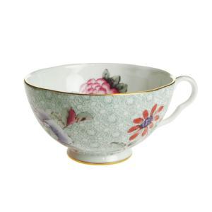 ウェッジウッド ハーレクイン カッコー ティーカップ グリーン|nihonnotsurugi