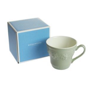 ウェッジウッド フェスティビティ セージグリーン マグカップ|nihonnotsurugi
