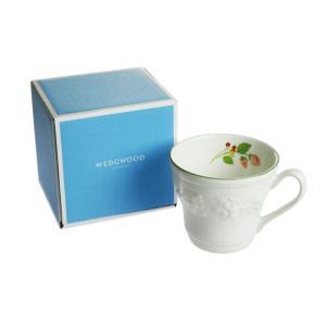 ウェッジウッド フェスティビティ ラズベリー マグカップ|nihonnotsurugi