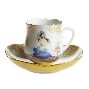 マイセン アラビアンナイト コーヒーカップ&ソーサー No.12 680710/23582-12|nihonnotsurugi