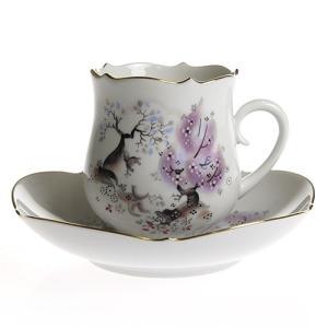 マイセン アーモンドの木 コーヒーカップ&ソーサー 23582|nihonnotsurugi