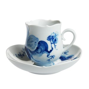 マイセン ブルーオーキッド コーヒーカップ&ソーサー 23582|nihonnotsurugi