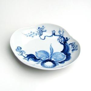 マイセン (Meissen) ブルーオーキッド オ−ドブルディッシュ 23284|nihonnotsurugi