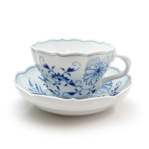 マイセン ブルーオニオン コーヒーカップ&ソーサー 00586|nihonnotsurugi