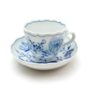 マイセン (Meissen) ブルーオニオン コーヒーカップ&ソーサー モカ 00580|nihonnotsurugi