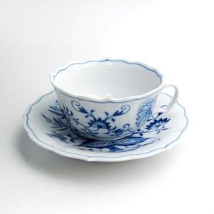 マイセン ブルーオニオン ティー カップ&ソーサー 0633|nihonnotsurugi