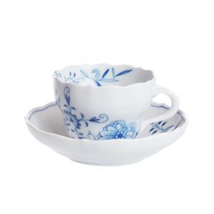 マイセン ブルーオニオンスタイル コーヒーカップ&ソーサー 801001/00582|nihonnotsurugi