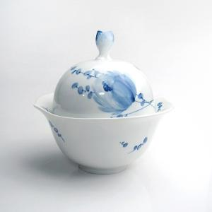 マイセン 青い花 シュガー (LL) 28824|nihonnotsurugi