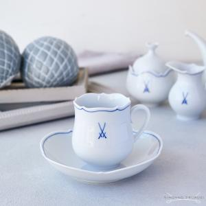 送料無料 / マイセン マイセンマーク コーヒーカップ &ソーサー 23582|nihonnotsurugi